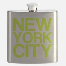 NEW YORK CITY, Fluorescent, Flask