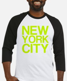 NEW YORK CITY, Fluorescent, Baseball Jersey