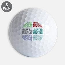 Cameras, Warhol, Vintage Golf Ball