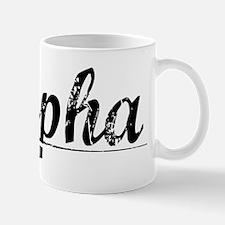 Alpha, Vintage Mug