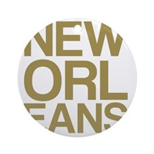 NEW ORLEANS Round Ornament