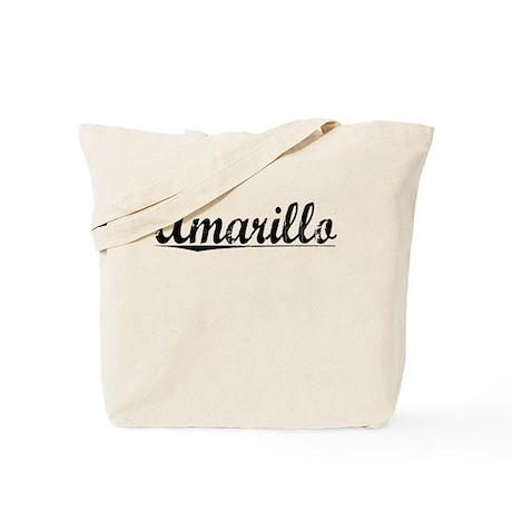 Amarillo, Vintage Tote Bag
