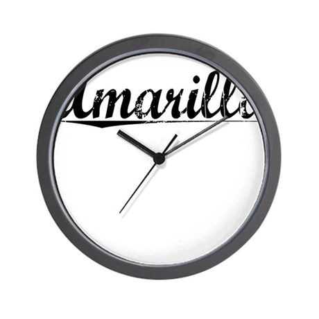 Amarillo, Vintage Wall Clock