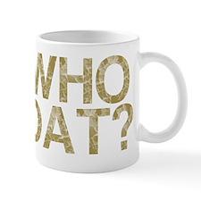 WHO DAT?, Vintage, Mug