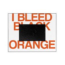 I Bleed Black and Orange Picture Frame