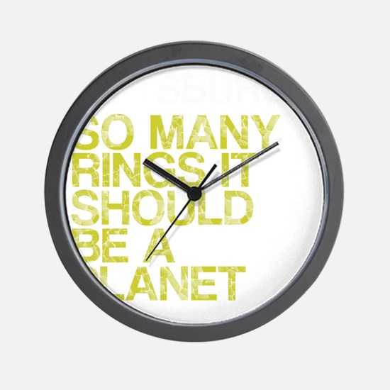 Pittsburgh PLANET, vintage, Wall Clock