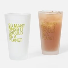Pittsburgh PLANET, vintage, Drinking Glass