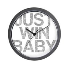 JUST WIN BABY, Vintage, Wall Clock