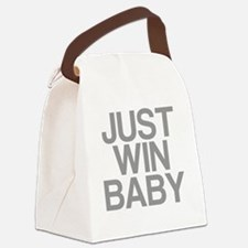 JUST WIN BABY Canvas Lunch Bag