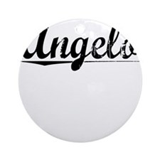 Angelo, Vintage Round Ornament