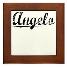 Angelo, Vintage Framed Tile