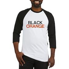 I Bleed Black and Orange Baseball Jersey