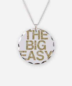 THE BIG EASY, Vintage, Necklace Circle Charm