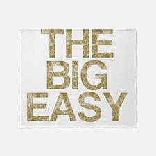 THE BIG EASY, Vintage, Throw Blanket
