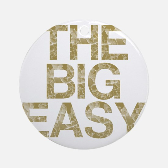 THE BIG EASY, Vintage, Round Ornament