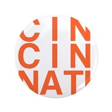 "CINCINATI, Typography 3.5"" Button"