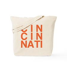 CINCINATI, Typography Tote Bag