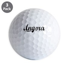 Angora, Vintage Golf Ball