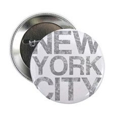 """New York City, Aged, 2.25"""" Button"""