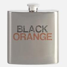 I Bleed Black and Orange, Aged, Flask