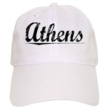 Athens, Vintage Baseball Cap