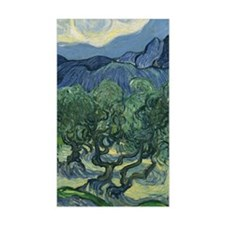 Van Gogh The Olive Trees Decal