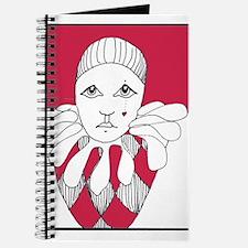 red tear drop harlequin Journal