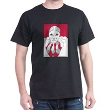 red tear drop harlequin T-Shirt