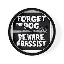 Beware the Bassist Wall Clock