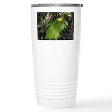 Yellow Nape Amazon Parrot Travel Mug