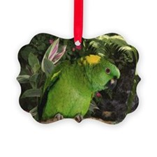 Yellow Nape Amazon Parrot Ornament