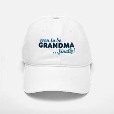 Soon to be GRANDMA Baseball Baseball Cap