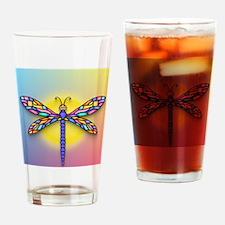 Dragonfly1 - Sun Drinking Glass