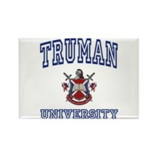 TRUMAN University Rectangle Magnet
