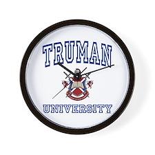 TRUMAN University Wall Clock