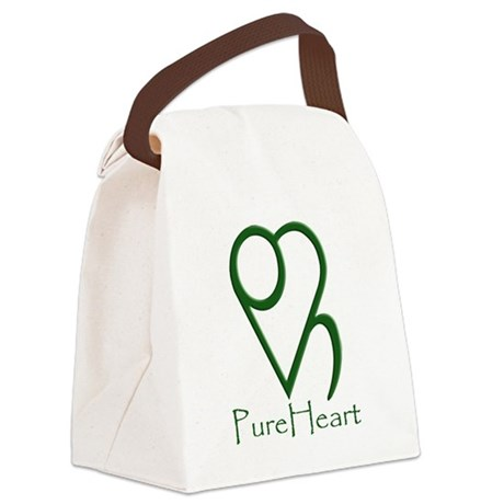 Basic Logo Canvas Lunch Bag