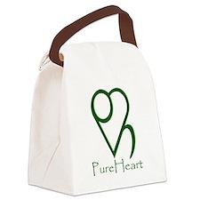 Basic Logo Canvas Lunch Bag