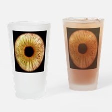 Computer-enhanced green iris of the Drinking Glass
