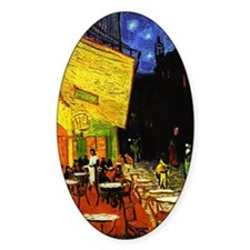 Van Gogh Cafe Terrace At Night Decal