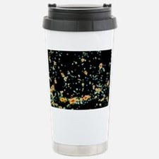 Computer simulation of galaxy f Travel Mug