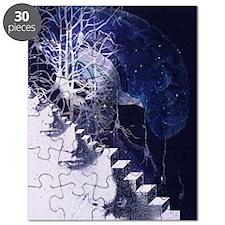 Conceptual art of brain Puzzle