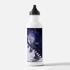 Conceptual art of brai Water Bottle