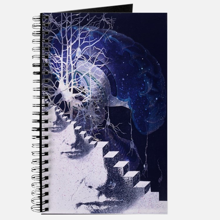 Conceptual art of brain Journal