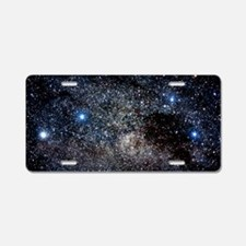 Constellations of Crux Aluminum License Plate