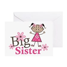 Ethnic Big Sister Greeting Card