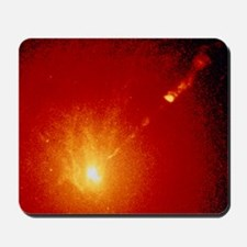 Core and optical jet of galaxy M87 Mousepad