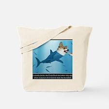 The Corgi Shark and the Bacon Fish Tote Bag