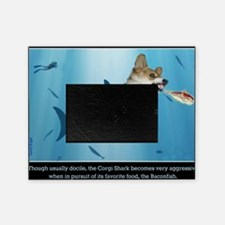 The Corgi Shark and the Bacon Fish Picture Frame