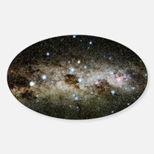 Crux constellation Sticker (Oval)