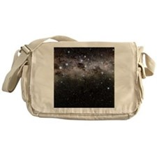 Crux and the southern celestial pole Messenger Bag